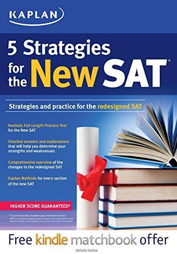 Kaplan 5 Strategies for the New SAT