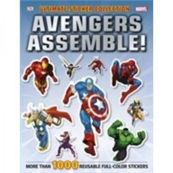 Ultimate Sticker Collection: Marvel Avengers: Avengers Assem
