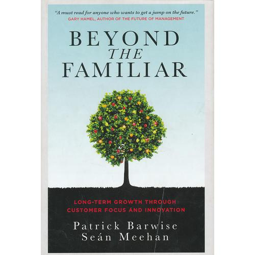 Beyond The Familiar - Long-Term Growth Through Customer Focus And Innovation 9780470976319