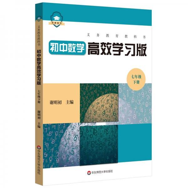 义务教育教科书初中数学高效学习版七年级下册