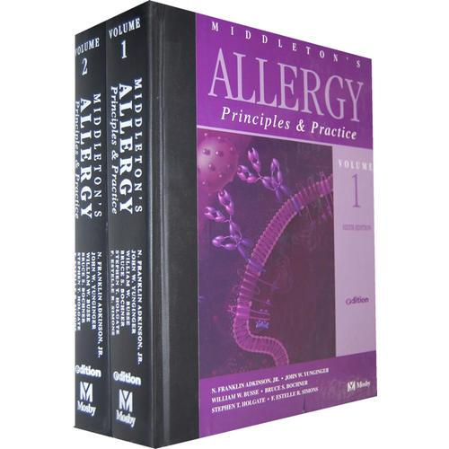 Middleton过敏症 两卷套(第6版) Middletons Allergy: Principles and Practice e-dition