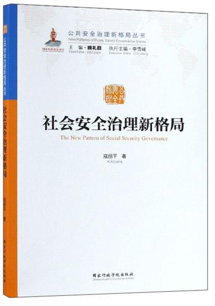社会安全治理新格局/公共安全治理新格局丛书