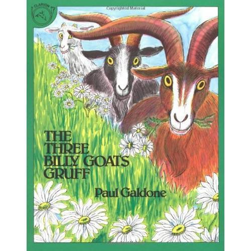 The Three Billy Goats Gruff (by Paul Galdone)三只山羊ISBN9780899190358