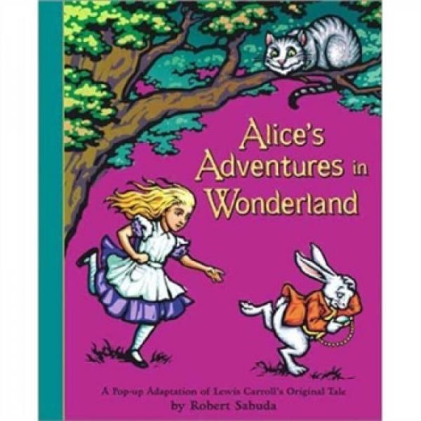 Alices Adventures in Wonderland  爱丽丝漫游奇境记 英文原版