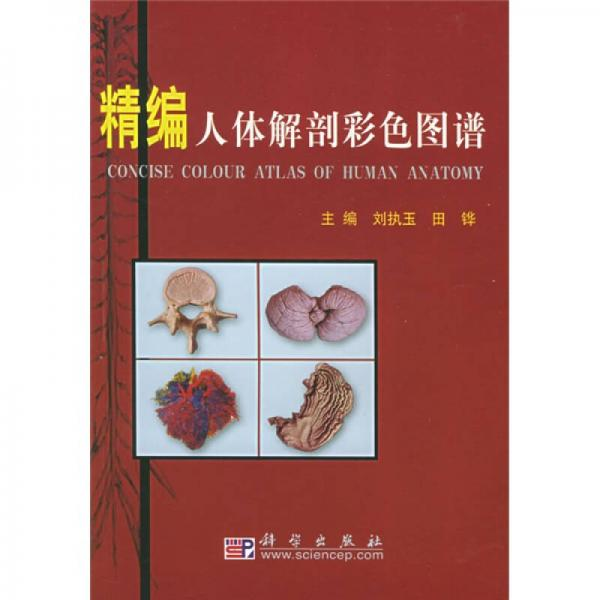 精编人体解剖彩色图谱