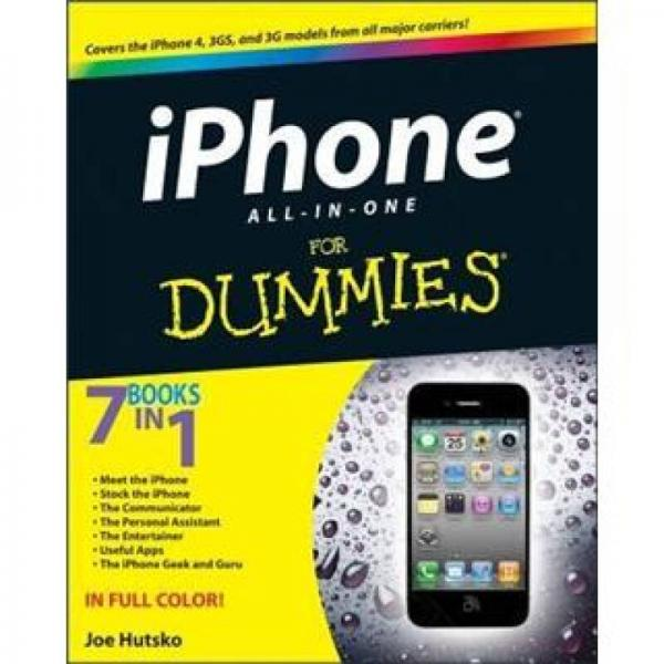 iPhone 4S All-in-One For Dummies (For Dummies (Computer/Tech))