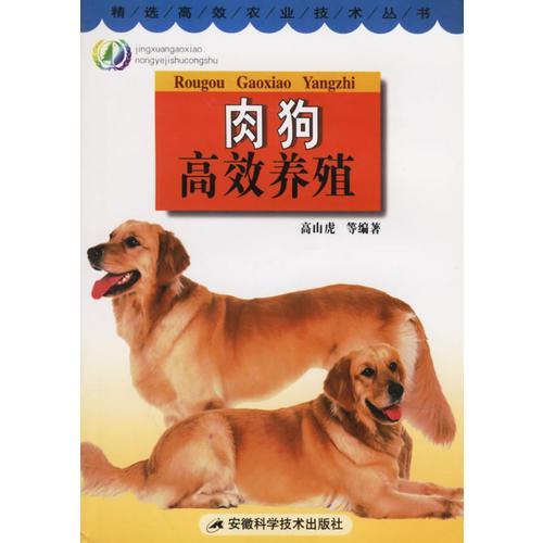 肉狗高效养殖/精选高效农业技术丛书