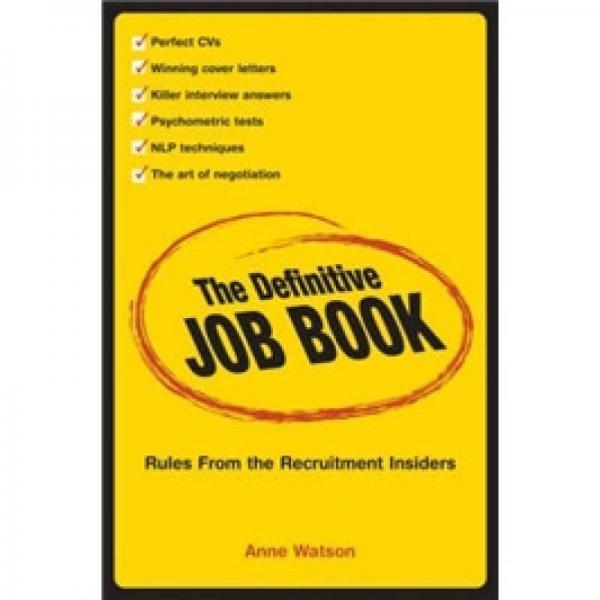 The Definitive Job Book[权威工作手册]