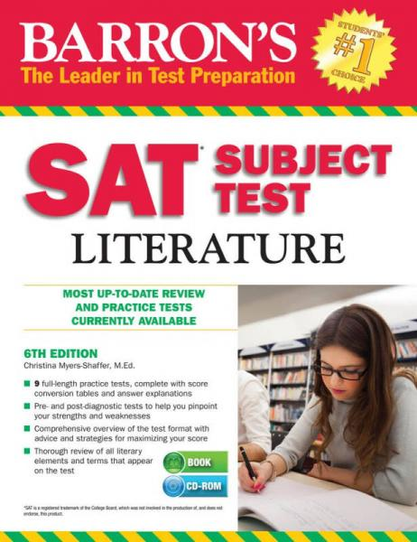 Barron's SAT Subject Test Literature with CD 6th