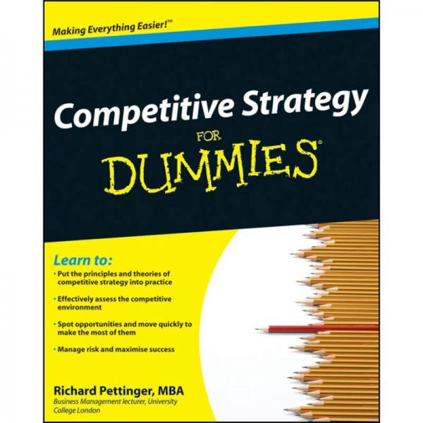 Competitive Strategy For Dummies[竞争战略傻瓜书]
