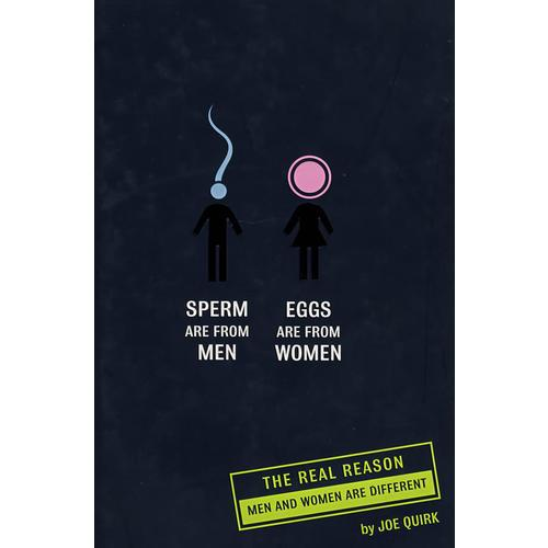 揭秘男女之间的不同 SPERM ARE FROM MEN, EGGS ARE
