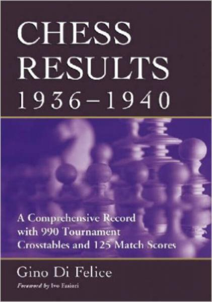 Chess Results, 1936-1940: A Comprehensive Record