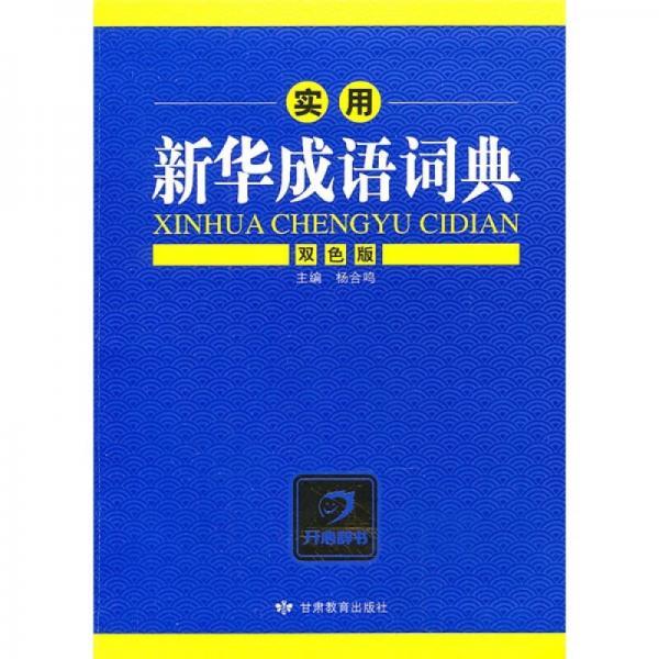 实用新华成语词典(双色版)
