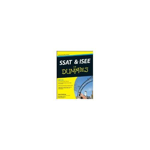 Ssat & Isee For Dummies 9781118115558