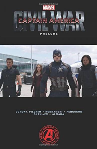 Marvels Captain America: Civil War Prelude  美国队长3 英雄内战前奏曲 英文原版
