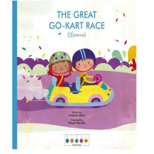 英文原版STEAM Stories: The Great Go-Kart Race (Science)蒸汽故事