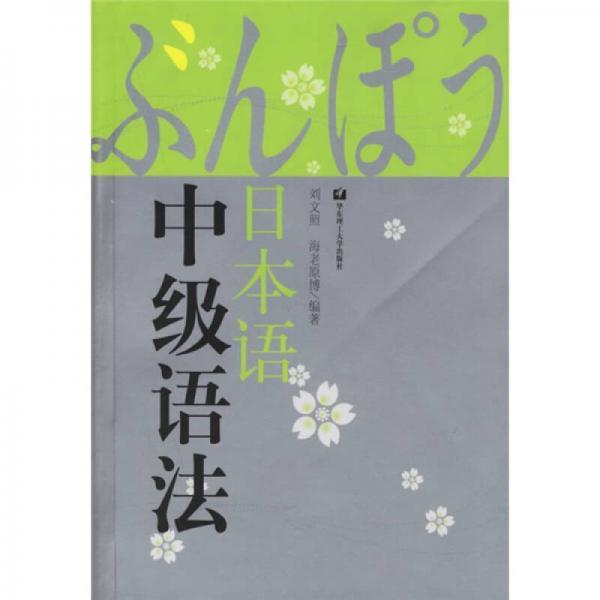 日本语中级语法