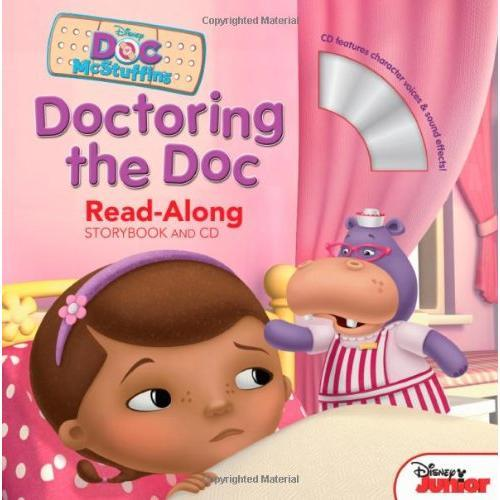 Doctoring the Doc(Read-Along Storybook and CD)玩具小医生