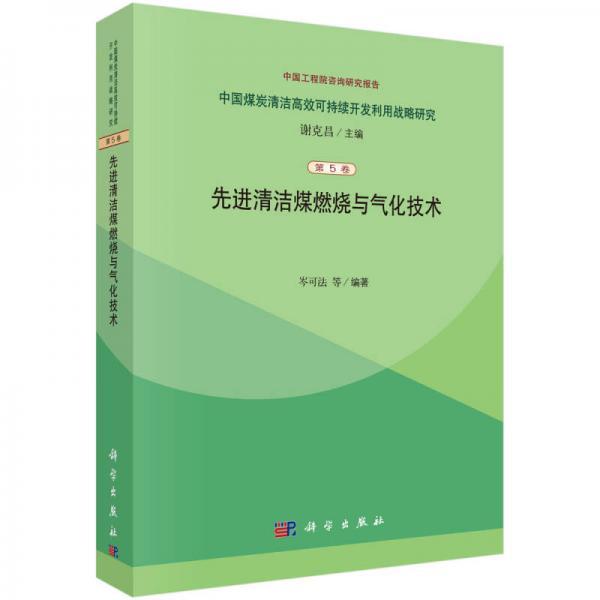 中国煤炭清洁高效可持续开发利用战略研究(第5篇):先进清洁煤燃烧与气化技术