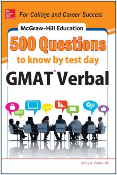 Mcgraw-Hill Education 500 Gmat Verbal Qu