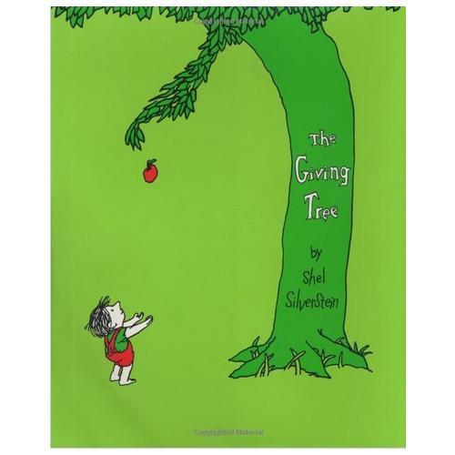 Giving Tree 《爱心树》谢尔·希尔弗斯坦绘本系列