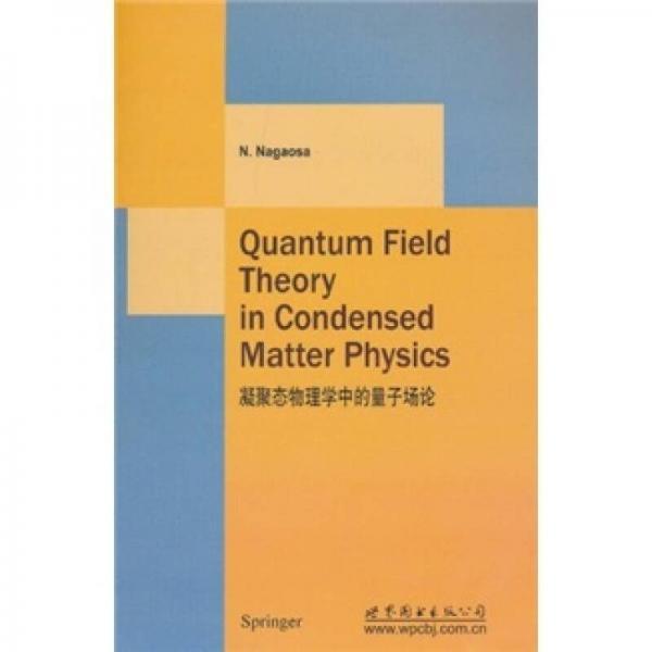 凝聚态物理学中的量子场论