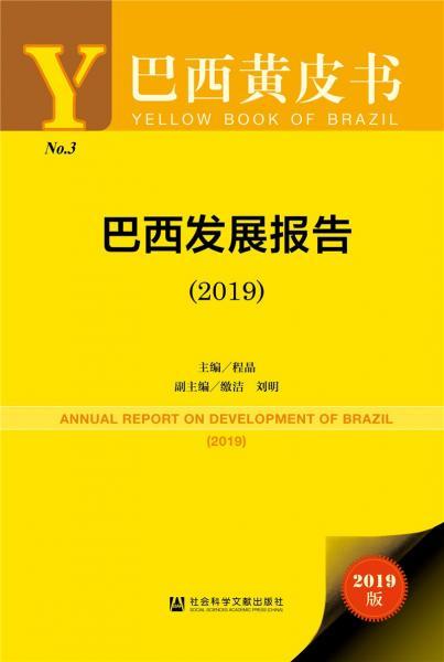 巴西黄皮书:巴西发展报告(2019)
