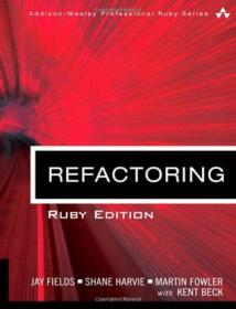Refactoring:Improving the Design of Existing Code