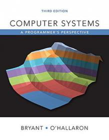 Computer Systems:A Programmer's Perspective(Edition 2)