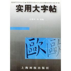 实用大字帖——唐柳公权《玄秘塔》选字本