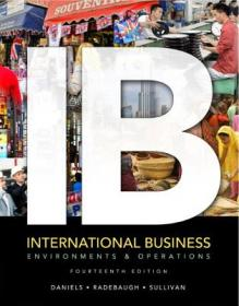 International Business with Online Learning Center access card