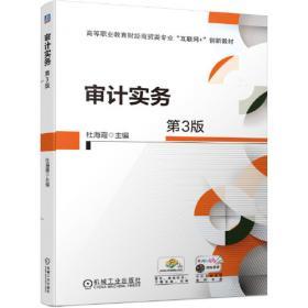 审计学(21世纪应用型本科会计系列规划教材)