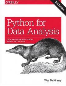 Python for Data Analysis:Data Wrangling with Pandas, NumPy, and IPython